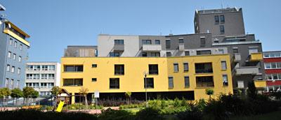 Novostavba Centrum Gercenova